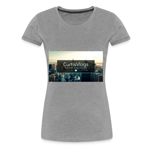 CurtisVlogs - Women's Premium T-Shirt