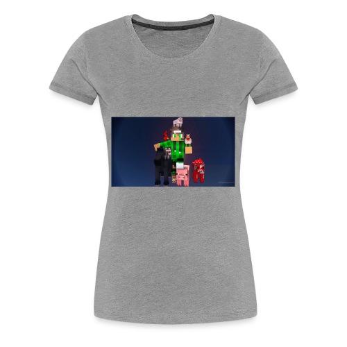 this is my youtube logo - Women's Premium T-Shirt