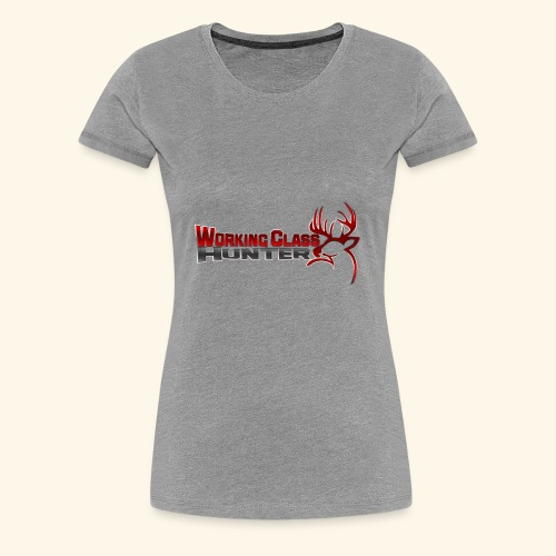 Working Class Hunter - Women's Premium T-Shirt