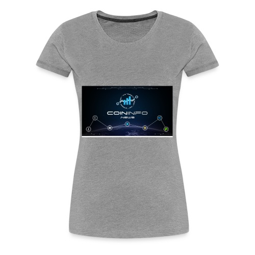 Cryptocurrency - Women's Premium T-Shirt