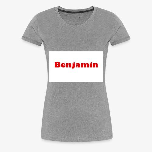 Benjamin - Women's Premium T-Shirt