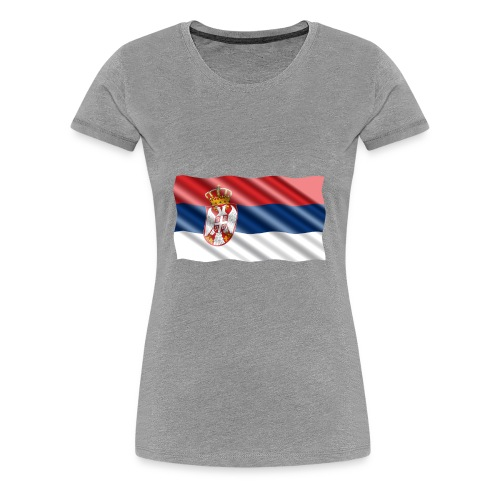 Serbia - Women's Premium T-Shirt