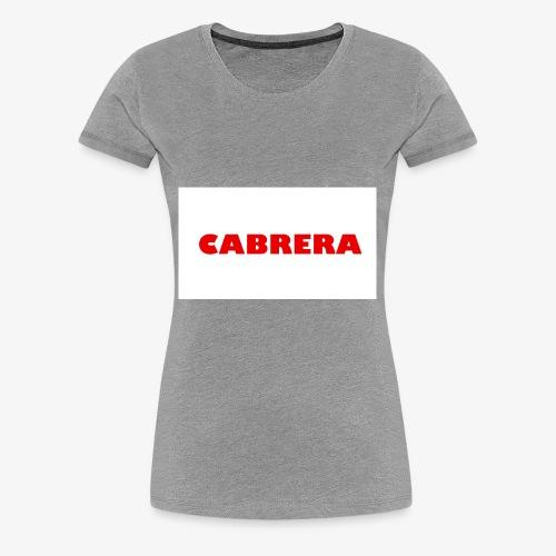 Cabrera shirt - Women's Premium T-Shirt