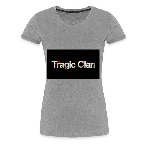 tragiic second logo - Women's Premium T-Shirt