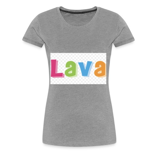 The lava - Women's Premium T-Shirt