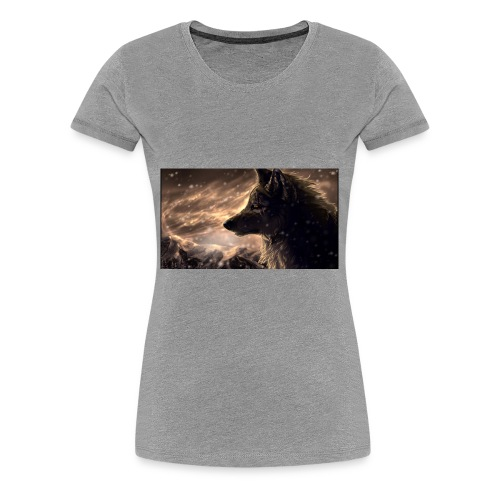 Wolf RFW - Women's Premium T-Shirt