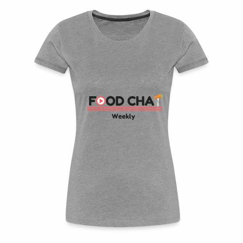 FoodChatWeekly Logo Tee - Women's Premium T-Shirt