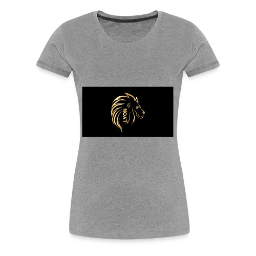 Gold and black bandana - Women's Premium T-Shirt