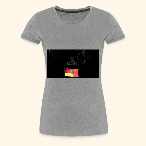 dj tiny face - Women's Premium T-Shirt