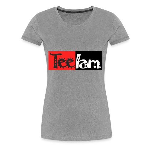TeeIam Basic 01 - Women's Premium T-Shirt