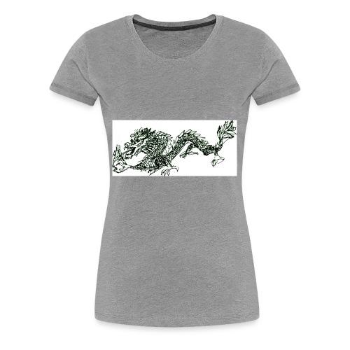 Dragon3 - Women's Premium T-Shirt