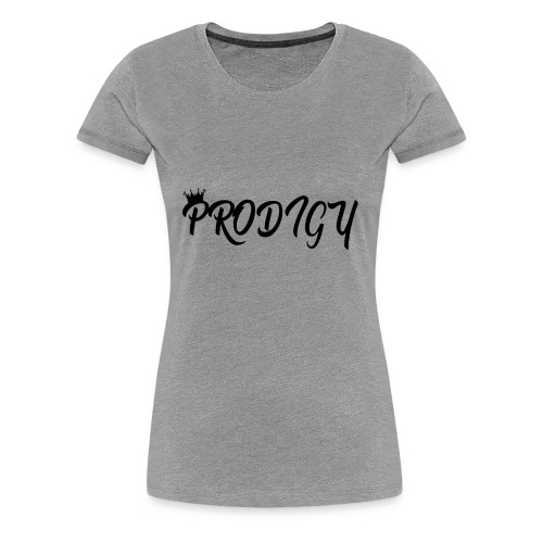 Prodigy Black w/Black Crown - Women's Premium T-Shirt