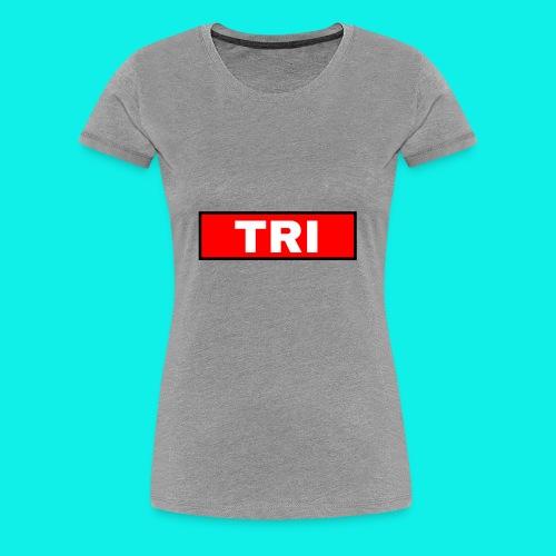 Tri classic red - Women's Premium T-Shirt