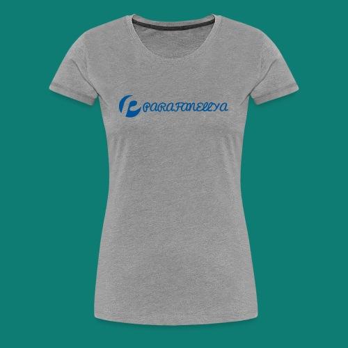 Parafanellya Blue - Women's Premium T-Shirt