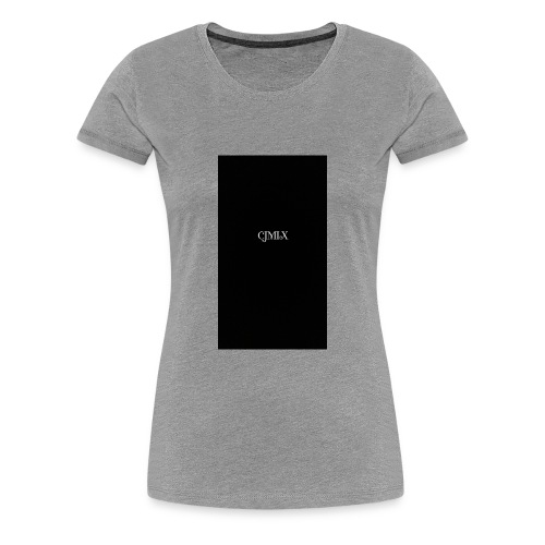 CJMIX case - Women's Premium T-Shirt