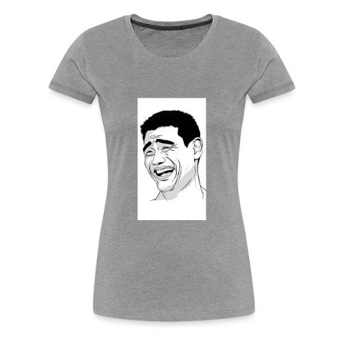 Muh Face - Women's Premium T-Shirt