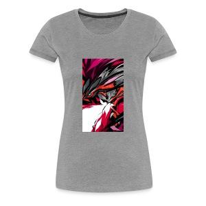 Abstract Red92 - Women's Premium T-Shirt