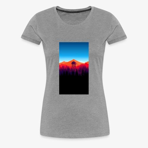 watch tower - Women's Premium T-Shirt