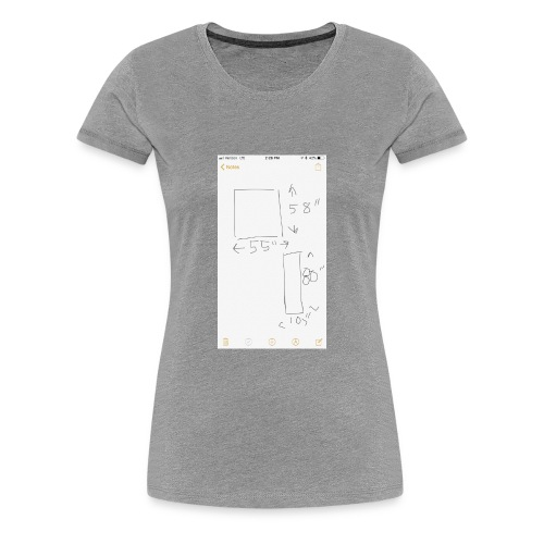 80A2D3FD 34FD 40E0 8DD0 EB02AE330A5B - Women's Premium T-Shirt
