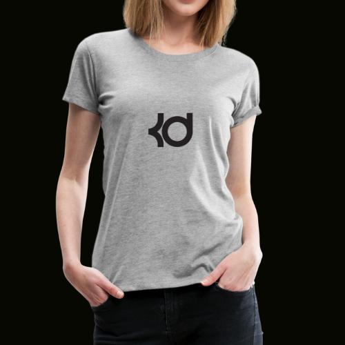 basket ball kevin #35 787658765875876667632 - Women's Premium T-Shirt
