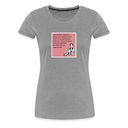 Jeaneille 11 - Women's Premium T-Shirt