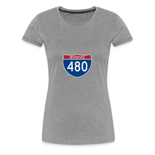 I-480 - Women's Premium T-Shirt