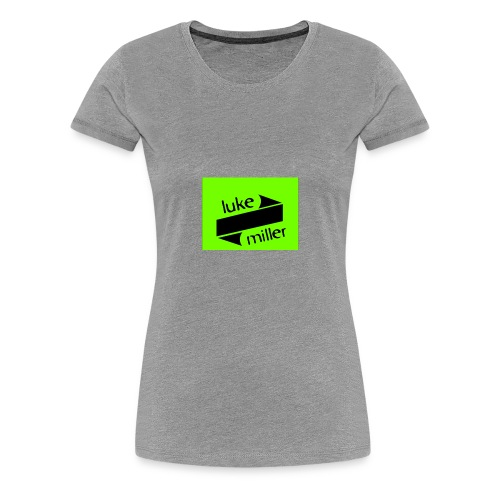 lukemillerlogo - Women's Premium T-Shirt