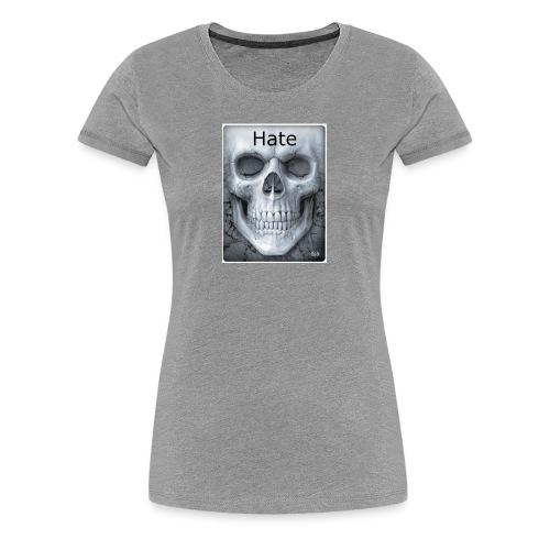 e1c03d5696bdc1fb2e82d0e7f4f9e360 badass skulls in - Women's Premium T-Shirt