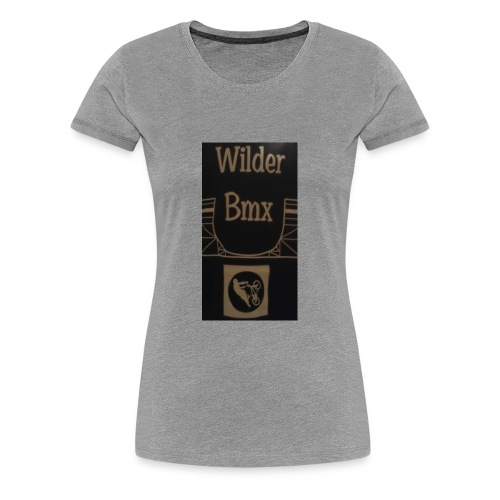 Wilder Bmx logo apparel - Women's Premium T-Shirt