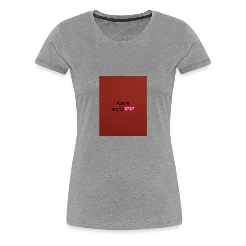 Kay's world - Women's Premium T-Shirt