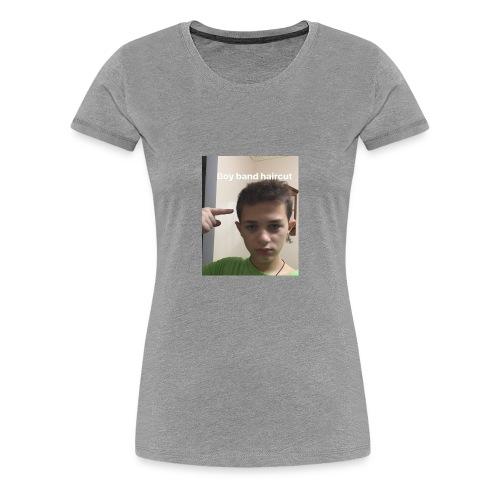 joe giurleo boy band haircut - Women's Premium T-Shirt