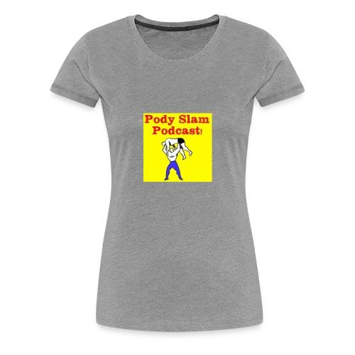 Classic Pody Slam Logo - Women's Premium T-Shirt