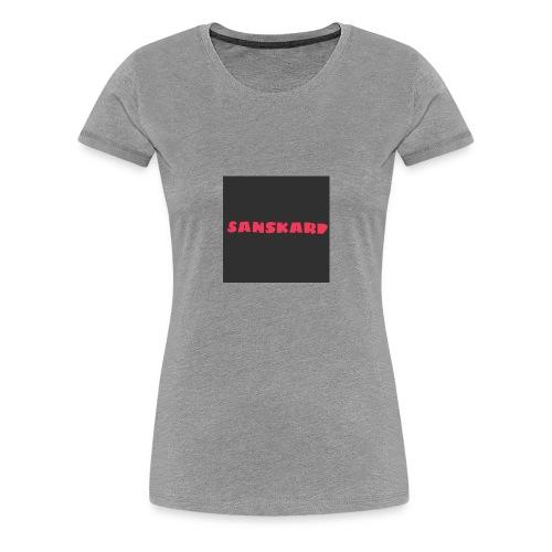sans - Women's Premium T-Shirt