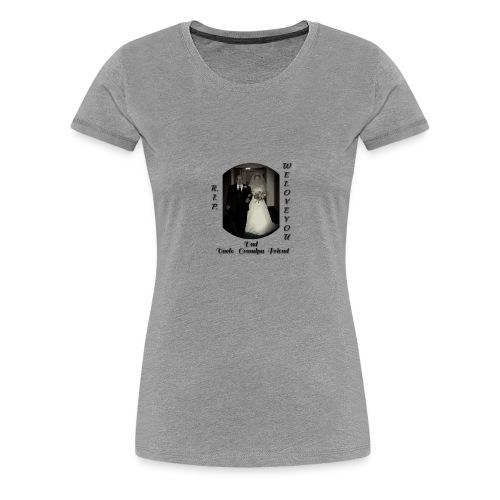 Grandpa Burns - Women's Premium T-Shirt