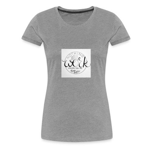 work, work, work - Women's Premium T-Shirt