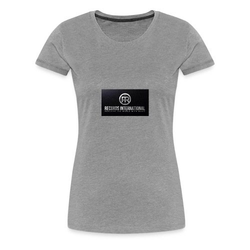 FR RECORDS INTERNATIONAL - Women's Premium T-Shirt
