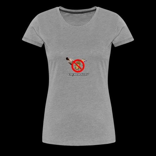 CaçaBaratas - Women's Premium T-Shirt