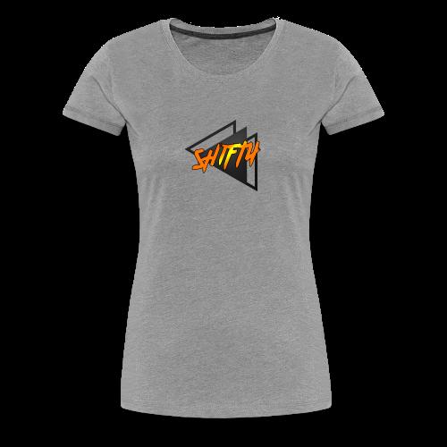 ShiftyGeometric - Women's Premium T-Shirt