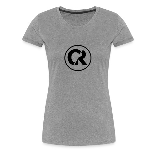 Quantum Red -Blackout- - Women's Premium T-Shirt