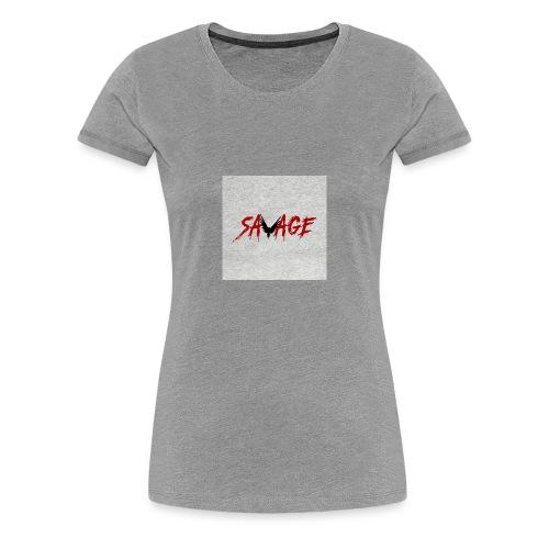 savage logo - Women's Premium T-Shirt