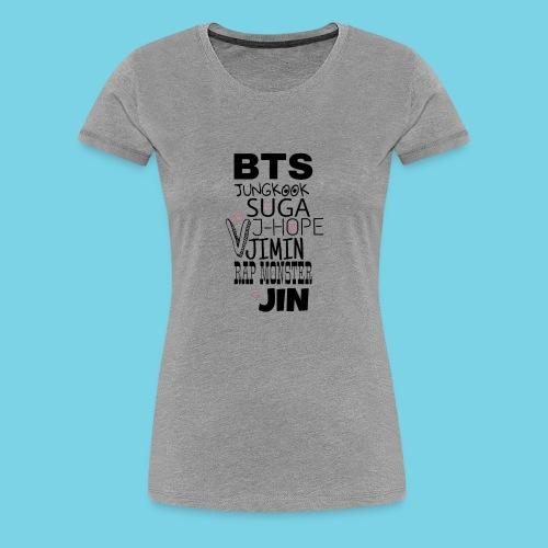 BTS - Women's Premium T-Shirt