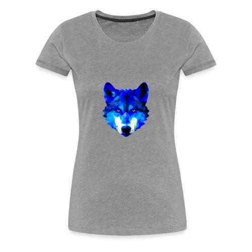 Blue Wolf - Women's Premium T-Shirt