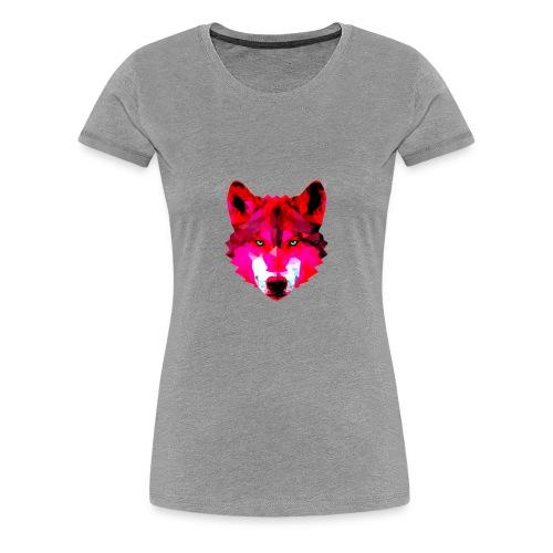 Wild wolf - Women's Premium T-Shirt