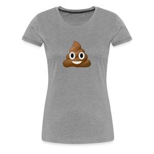 Poo E-moji - Women's Premium T-Shirt