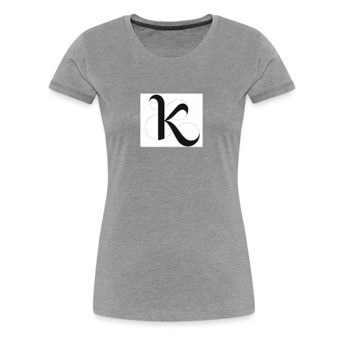 Fancy k stand for king - Women's Premium T-Shirt