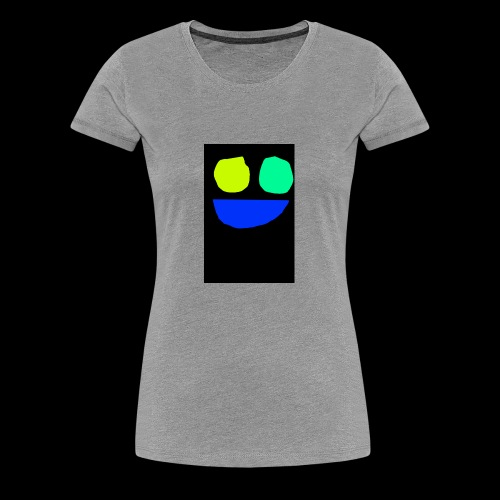Smiley face colors - Women's Premium T-Shirt