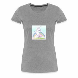 UNICORN DANCING - Women's Premium T-Shirt