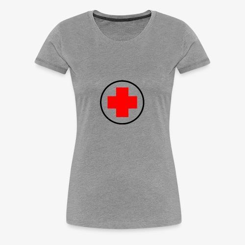 red cross - Women's Premium T-Shirt