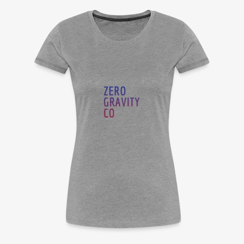 Zero Gravity Colorful Logo - Women's Premium T-Shirt
