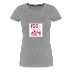6359861514666412231626691250 daddys girl pic 2 - Women's Premium T-Shirt
